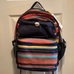 Roxy Dual Backpack & Lunch Bag
